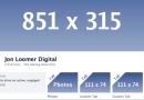Qual o tamanho das imagens da nova Timeline do Facebook?